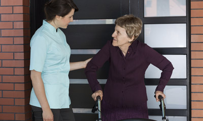 Photo Of Home Health Care Service For Walking Assistance - Adult Care Advisors