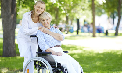 Photo Of Adult Care In New Jersey Park And Wheelchair - Adult Care Advisors